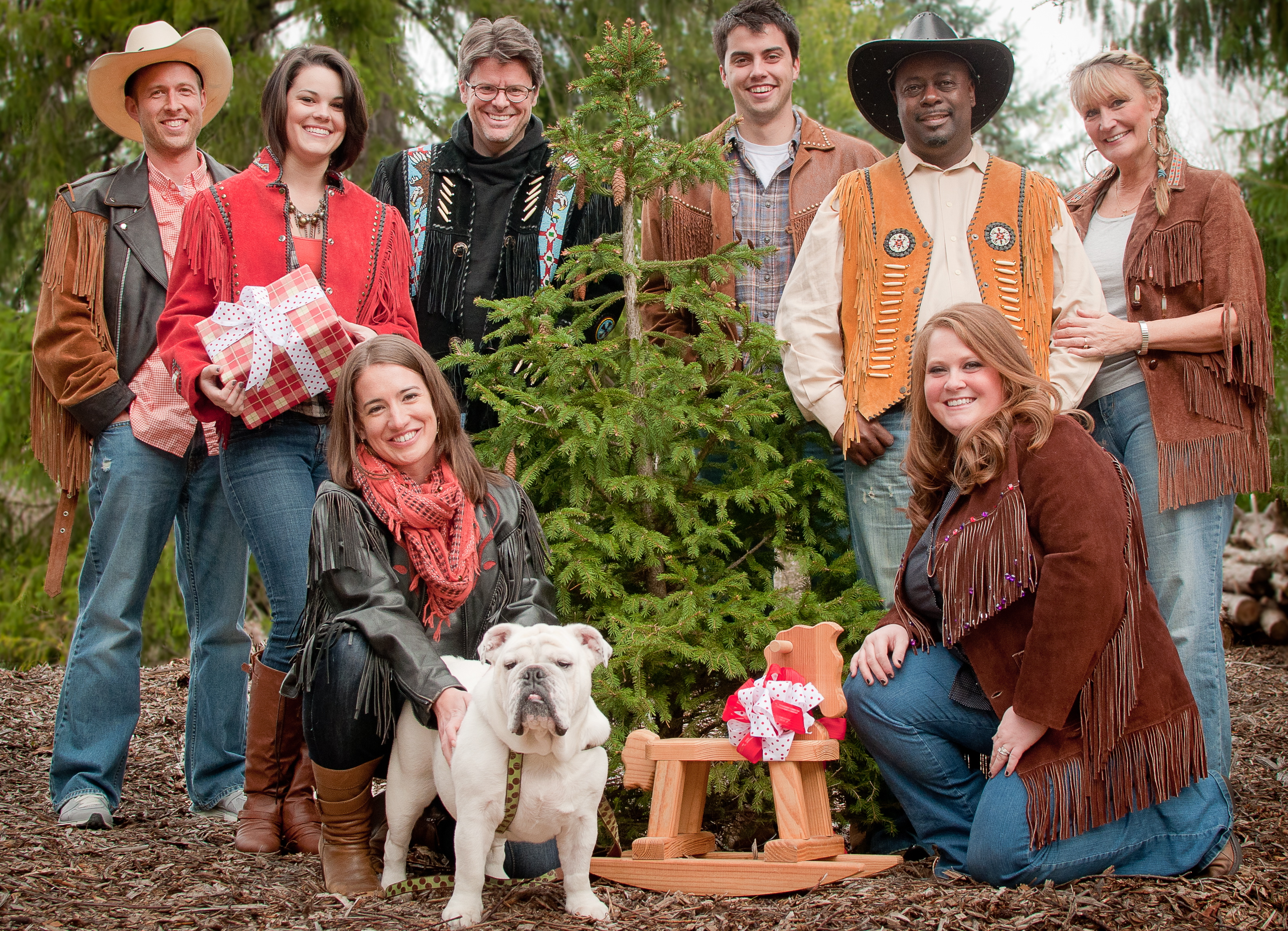 big thanks to k z photography for sharing their country christmas photos - A Country Christmas Cast